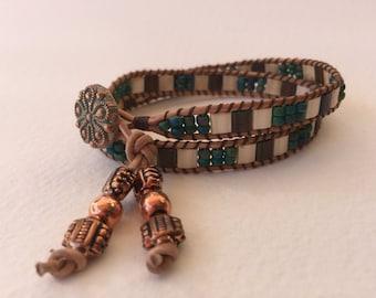 Macrame 2-wrap bracelet