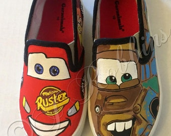 Hand painted shoes
