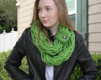 Celedon Arm Knit Scarf