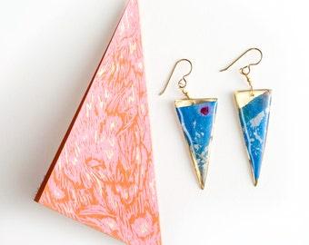 Jeweled Eyes dangle earrings