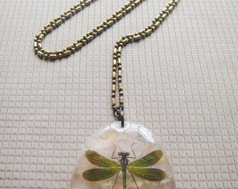 Natural stone necklace to