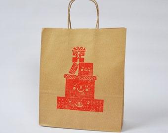 Handprinted Gift Bag