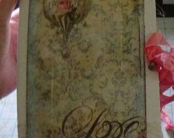 Shabby Chic Wedding Journal