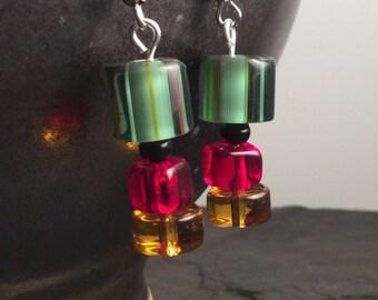 funky harvest earrings - free shipping