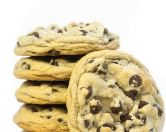 Over-Sized Chocolate Chip Cookies