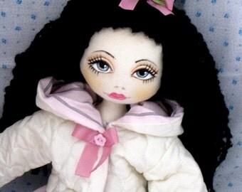 Black hair Doll