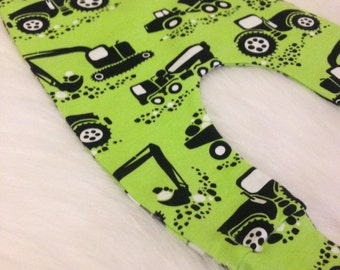Green Diggers Leggings 0-3 months upto 5-6 years