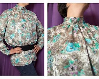 Vintage blouse 1980s-Vintage 80s shirt