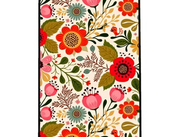 Vintage Flowers/ Floral IPhone 4,4s case,Iphone5,5s case, Iphone 6 6s case,Iphone 6plus, 6s plus case,Iphone 7 case 7 plus Hard back case