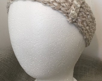 Loom knit headband Etsy