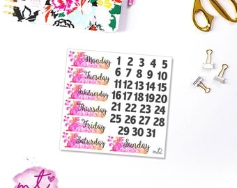 Meet Me In Paris Date Covers || Vertical || Planner Stickers || Erin Condren Life Planner
