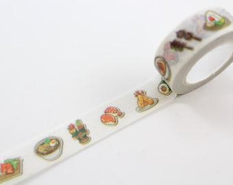 Sushi Japanese Food Washi Tape Masking Tape//Fast Shipping