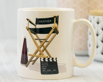 Personalised Director's Chair Mug
