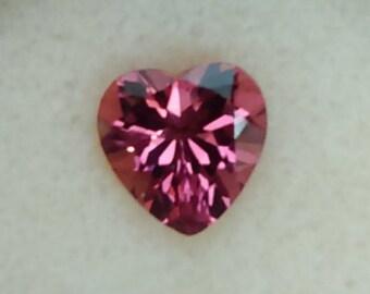 Heart Shape Pink Tourmaline