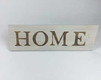 Wooden Sign For Home, Wood Signs, Wooden Signs, Wood Sign - Reverse Stain Home