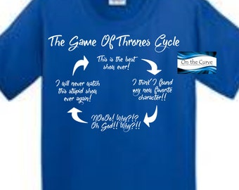 Game of Thrones - cyle shirt - best show ever -