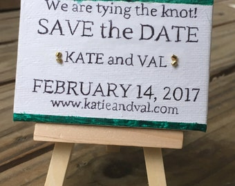 Save the Date, Canvas.