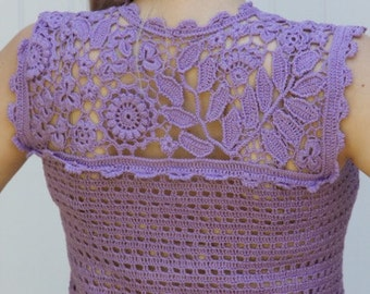 Irish crochet, crochet blouse, irish lace, irish lace top, lace tops for women,  irish lace crochet,