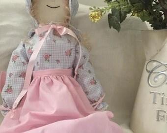 Cloth Doll, rag doll, dressed doll