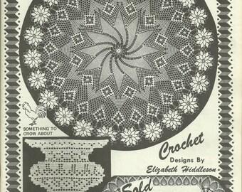 Elizabeth Hiddleson Crochet Originals Vol. 30 Vintage Doilies Home Decor