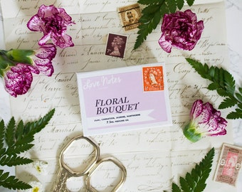 Floral Bouquet - Roll On Perfume Oil (vegan) with lilac, carnation, jasmine, hawthorne