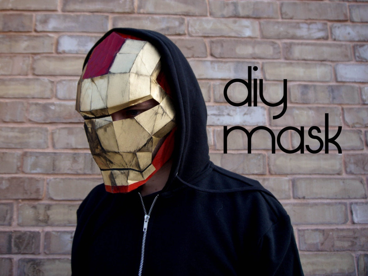 melting iron man mask - photo #14