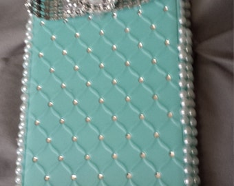 jeweled turquoise phone case for iphone 6 and 6s plus