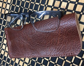Soft Leather Glasses Case (small)