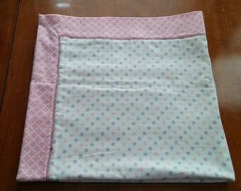 Baby Girl Recieving Blanket