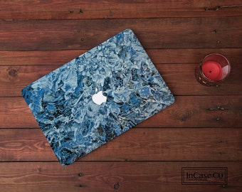 Marble Macbook Hard Case - Blue Marble Hard Case For Macbook Air, Macbook 13 Inch, Macbook Pro Retina and Non Retina