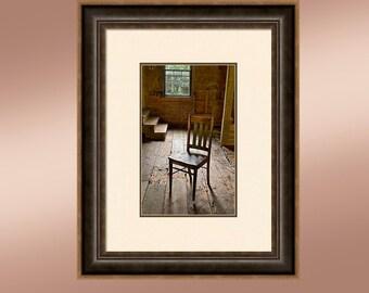 Too Short. An old farm house chair.