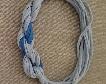 Tshirt yarn necklace