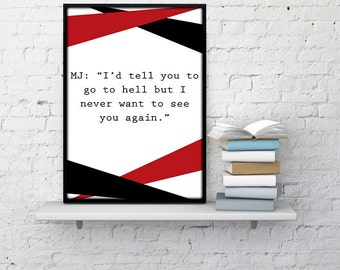 Mad Men Poster Quote Donald Draper Poster Roger Sterling Id Tell You Madmen poster mad men wall art madmen quotes don draper home decor dorm