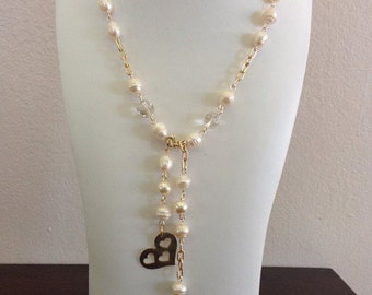 Pearls Lariat