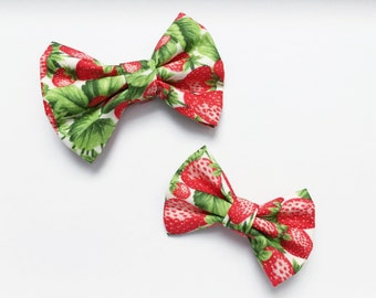 Baby Girl, Toddler, Strawberry Fields Bow