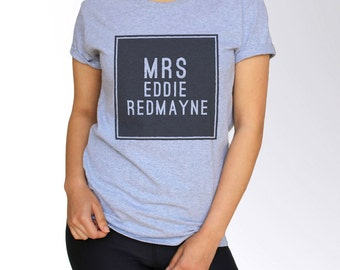 Eddie Redmayne T Shirt - Gray - S M L