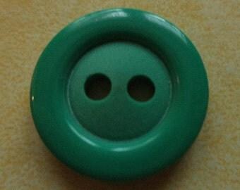 7 green buttons 21mm (3247) button