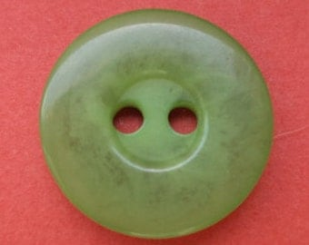 12 light green buttons 15mm (2072) button Green
