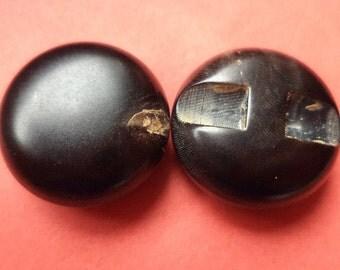 Horn button buttons 10 Horn button black 21 mm (4348)