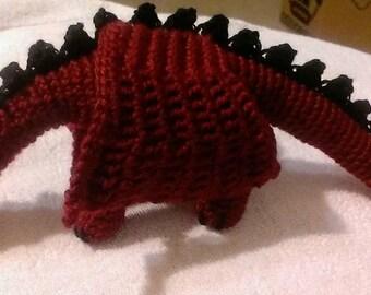 Dragon toy amigurumi