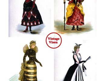 Fancy Dress Prints
