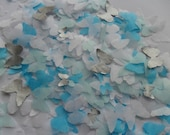 Silver Frozen Kisses Mix Butterfly Biodegradable Tissue Paper Confetti Wedding Party