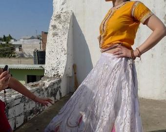 Vintage Rajasthani Spinning Skirt