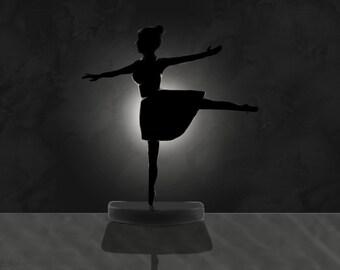 Ballerina in the Shadow - Original Digital Artpiece