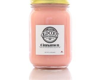 100% Soy Candle - Cinnamon - 10oz