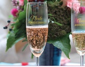DIY Champagne Glass Decal...