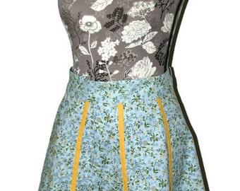 Half apron, Women's Apron, Retro apron, Cooking apron, Retro inspired apron, Vintage style, Half apron woman, Woman apron, Chef gift