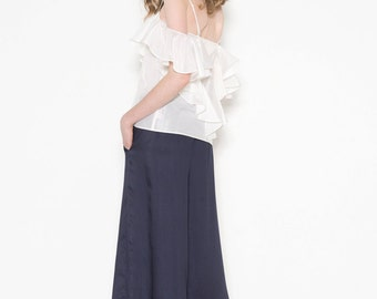 Culottes with pockets