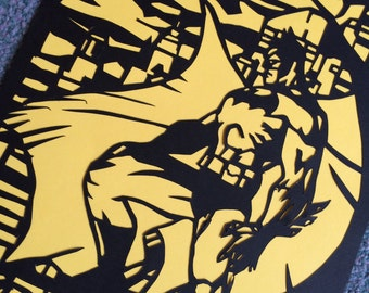 Batman Paper cut out