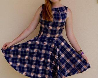 Plaid Schoolgirl Dress